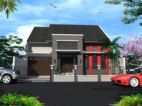desain eksterior rumah 1 lantai model rumah minimalis 1 lantai terbaru