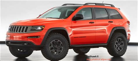 orange jeep grand cherokee jeep grand cherokee trailhawk 2013 moab concept