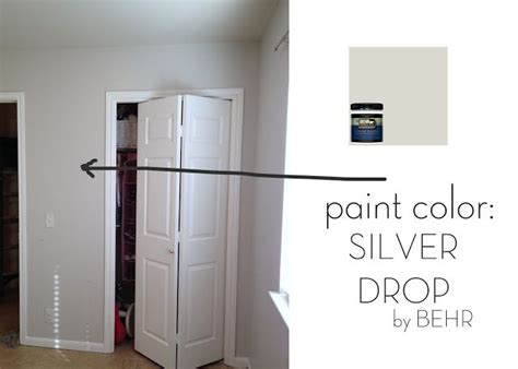 silver drop behr favorite paint color planned for the whole house w white trim moulding