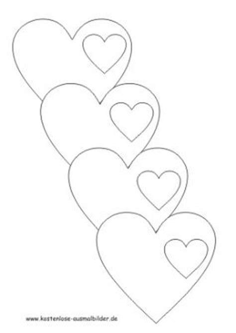 Kostenlose Vorlage Herz Malvorlagen Herzen Herzen Ausmalen Ausmalbilder