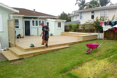 how to build a deck nz prospecs building project gallery renovation project