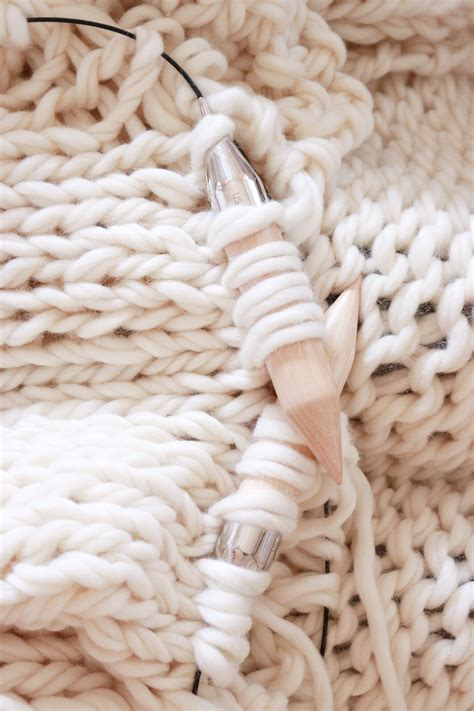 wool knit how to knit a chunky wool blanket free downloadable