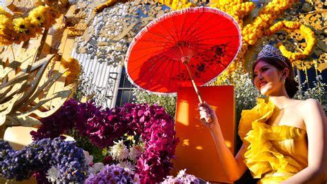 chiang mai flower festival cicek festivali tayland