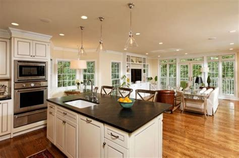 open kitchen living room design ideas top open living room kitchen designs how to decorate