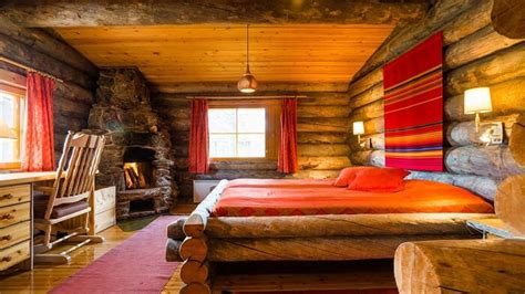 log cabin interiors for the most comfortable log cabin at glass igloo in finland once in a lifetime experience