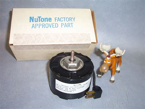 nutone 23405 fan motor nutone universal bath fan motor 23405 1550rpm nib moose