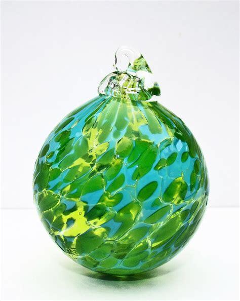 green bauble green aqua bauble