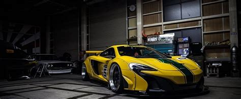 Liberty Walk McLaren 650S Gets P1 GTR Livery and 3SDM