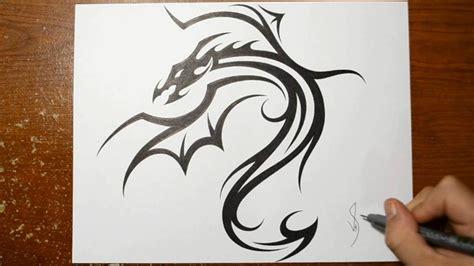 easy tattoo ideas to draw dragon tattoo easy drawing danielhuscroft com