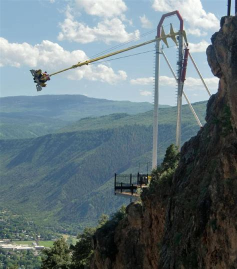 glenwood springs swing ride glenwood springs co places i ve been pinterest