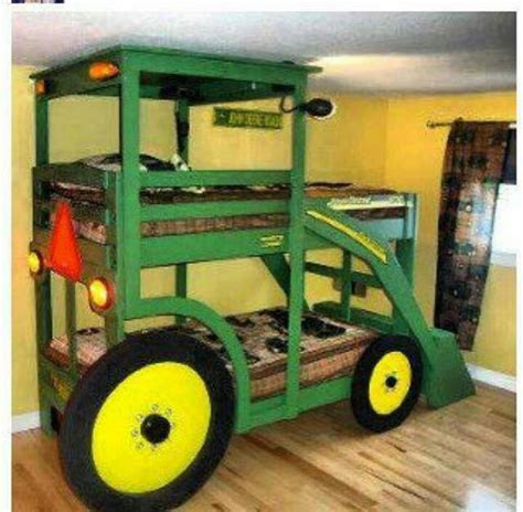 tractor bunk bed tractor bed bedroom pinterest