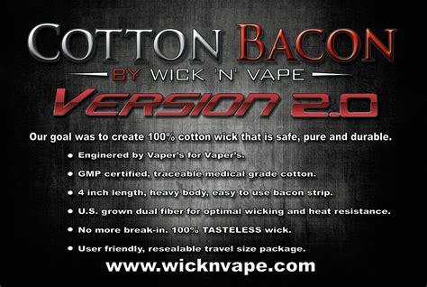 Cotton Bacon V2 Kapas Organik Organic B K jual cotton bacon usa original authentic kapas vapor usa