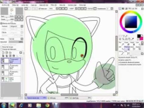 paint tool sai zamunda tutorial de paint tool sai boceto ni base only