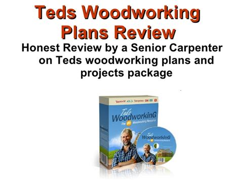 31 Lastest Teds Woodworking Plans Egorlin
