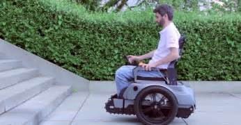 Electric Wheelchair That Climbs Stairs by Swiss Students Invent A Wheelchair Capable Of Climbing Stairs