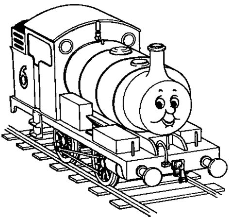 thomas the tank engine coloring pages for kids