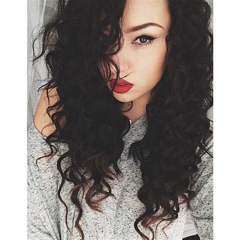 long multilayer permed hairstyles 2014 94 best hairstyle images on pinterest curly bob hair