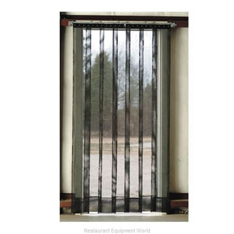 aleco strip curtains aleco 405013 strip curtain unit strip door