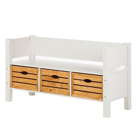 Banc D Entree by Banc D Entr 233 E Stralsund Pin Massif Home24 Fr