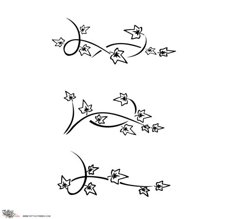 ivy tattoo designs back tattoos for