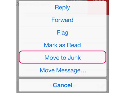 how to block an email on iphone how to block junk email on the iphone techwalla