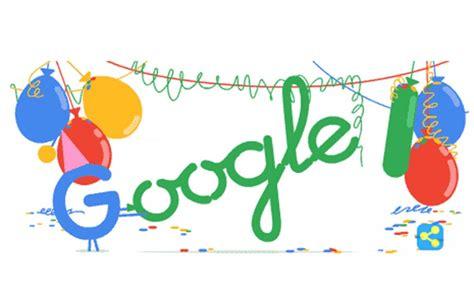 doodle animado do comemora 18 anos doodle animado cri