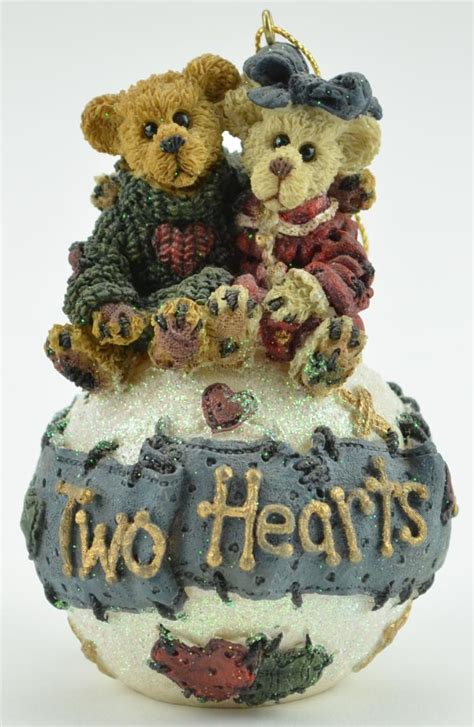 boyds bears george and gracie forever resin christmas tree