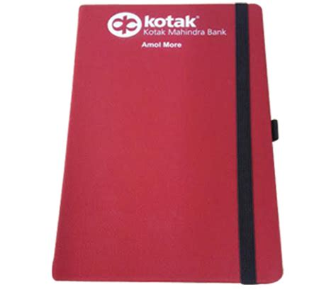 Cover Bantal Kotak Space study moleskin planners for kotak mahindra bank brandstik