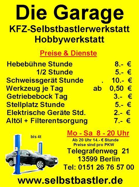 kfz werkstatt portal mietwerkstatt portal de berlin