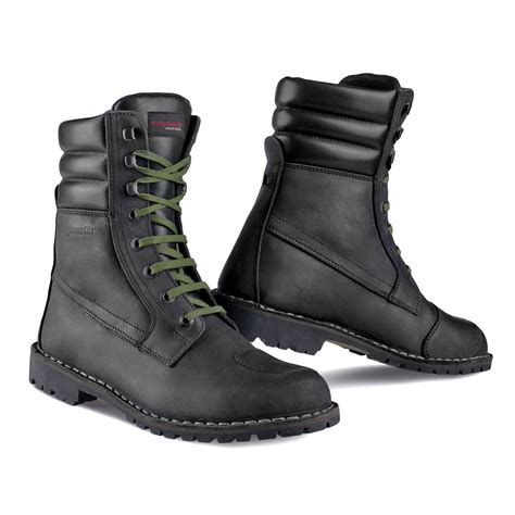 green motocross boots everyday motorcycle boots comfortable commuter