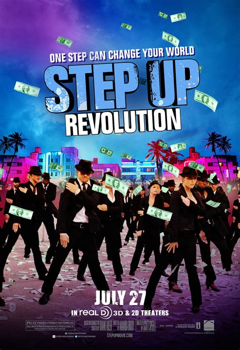film step up revolution posters for frankenweenie magic mike step up revolution