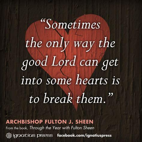 sheen quotes fulton sheen quotes saints quotesgram