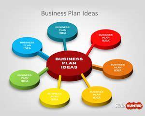 Business Idea Presentation Template Free 3d Business Plan Diagram Idea For Powerpoint