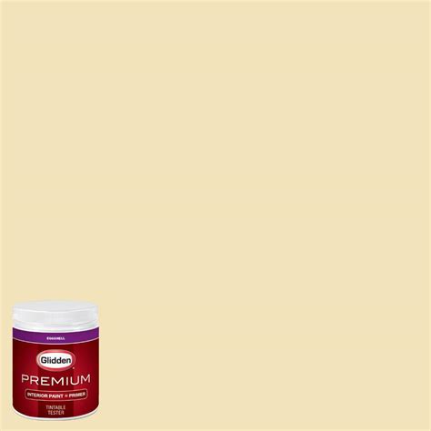 Glidden Paint Tester Review by Glidden Premium 8 Oz Hdgy43d Haystack Eggshell Interior