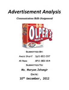 Advertisement Analysis Essay by Analyzing Ads Essay