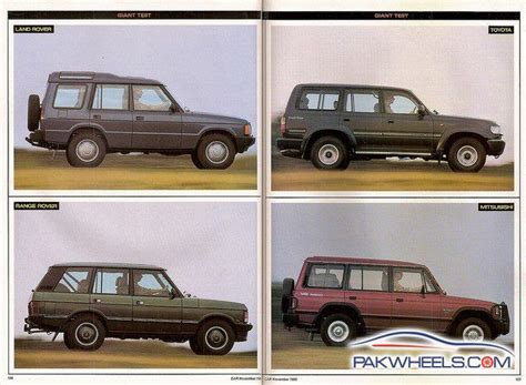 pajero land rover land cruiser vs land rover discovery vs pajero vs range