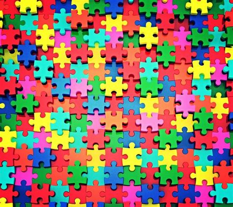colorful puzzle pieces colorful puzzle pieces wallpaper background the color