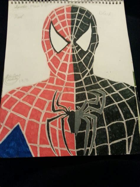 black suit spider 3 spider 3 and black suit drawing spider