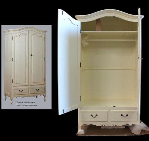 Wardrobe 110cm Wide by Provincial Furniture White Wardrobe Clothes Storage