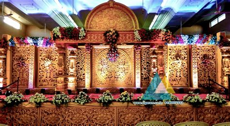 Reception Reception Stage Decoration At Kandhan Thirumana Nilayam Puducherry 171 Sigaram Wedding » Home Design 2017