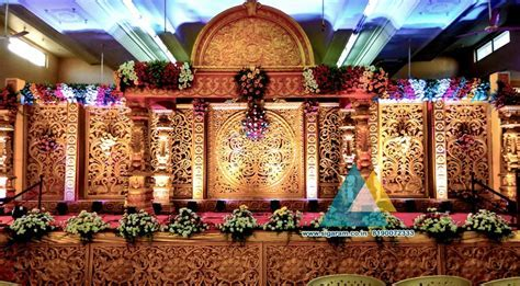 Wedding Stage Decoration @ Sri Subhalakshmi Mahal