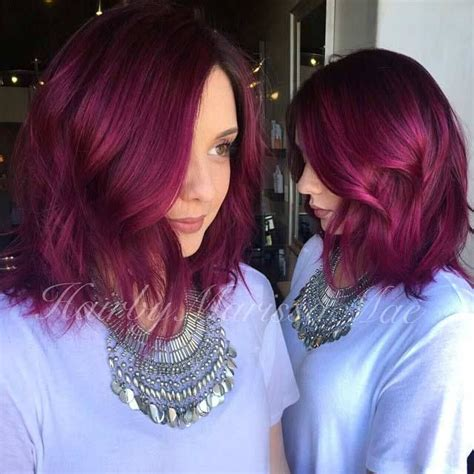 hair with slight waves 25 best ideas about fuschia hair on pinterest crazy