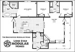 modular home floor plans the beechwood ranch style modular home floor plan
