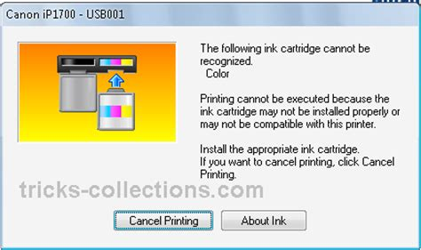 program reset canon ix6560 program reset printer canon ip2770