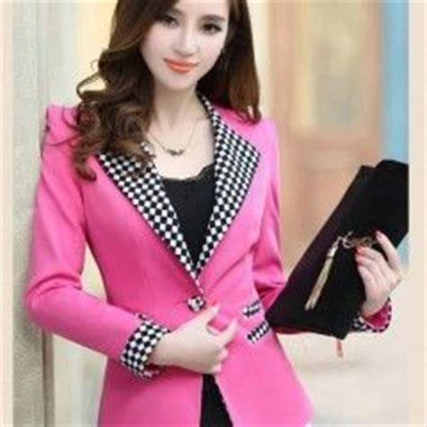 Celanasweaterkorea Wanita Fashion Color Pink S13086 jc683 4 1 blazer import big size wanita koleksi fashion import korean style