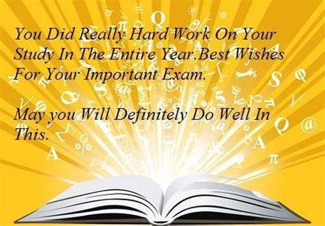 For Exams Best Wishes Quotes. QuotesGram Final Exam Wishes
