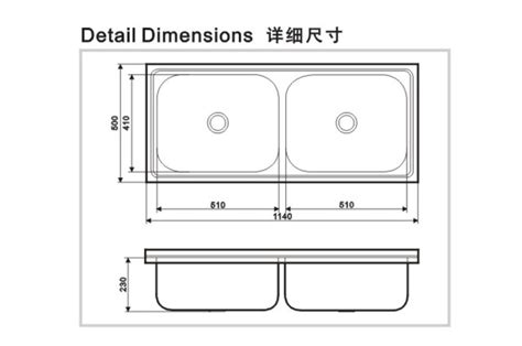 single bowl kitchen sink dimensions undermount kitchen sink dimensions