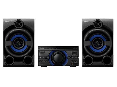 sony mhcm  high power audio system  bluetooth