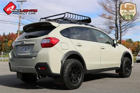 custom lifted subaru brand subaru model crosstrek year 2016color kaki