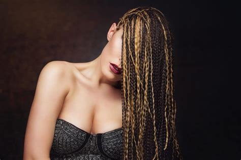How To Care For Box Braids With Loose Ends   3 must have products to care for box braids curls understood